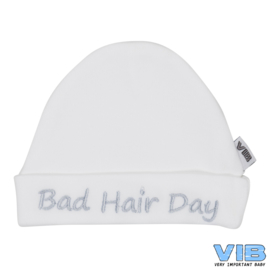 VIB Mutsje Bad hair day Wit