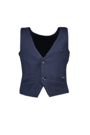 Le Chic Garcon 8107 Gilet classic stretch Blue Navy