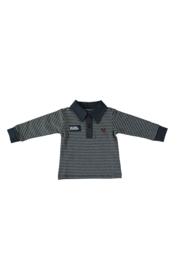 Le Chic Garcon 0496 Polo yarn dyed stripe Blue Navy
