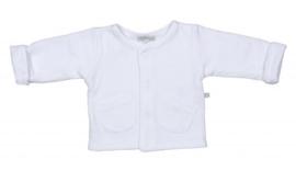 Mats&Methe 0028 Jasje Unisex zakjes White
