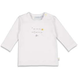 Feetje 51601652 Longsleeve You Are Sunny Mood White