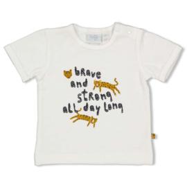 Feetje 51700652 T-shirt Go Wild Offwhite