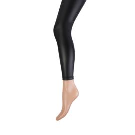 Marianne 20067 Legging Leather look Zwart met dunne fleece binnenkant