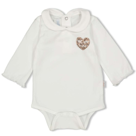 Feetje 50200136 Romper Panther Cutie Offwhite