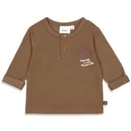 Feetje 51601773 shirtje bruin
