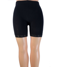 Yellow Moon short legging kant navy