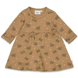 Feetje 51400388 jurkje camel