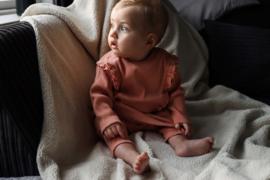 LEVV newborn LENTE jurkje nude