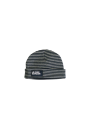 Le Chic Garcon 0996 Hat yarn dyed stripe Blue Navy