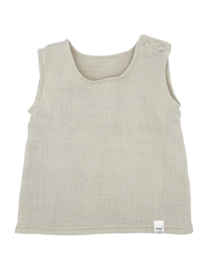 Maximo top organic cotton zand