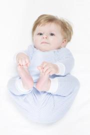Feetje pyjama 92-128 lichtblauw