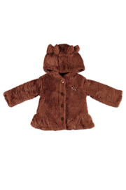 Le Chic 9290  Soft teddy coat Cinnamon