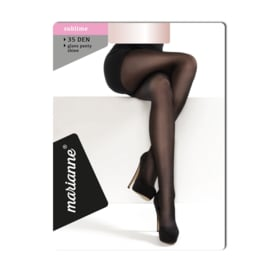 Marianne panty 35 denier almost black