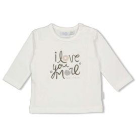Feetje 51601669 Longsleeve Love You Mini Cookie Offwhite