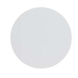 sublimatie cirkel 5cm aluminium wit