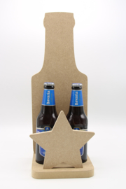 houder voor twee bierflesjes (mdf)