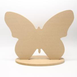 vlinder groot met voet