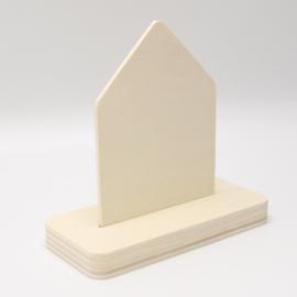 plankje huisje kort/breed