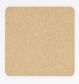 houten bord 20x20cm of 20x25cm