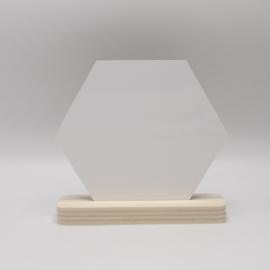 plankje populieren met sublimatie hexagon