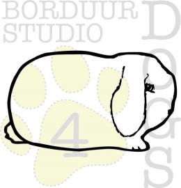 sticker NHD silhouette