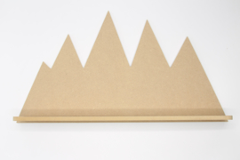 Berg wandplank