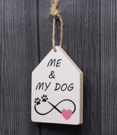 teksthanger me & my dog