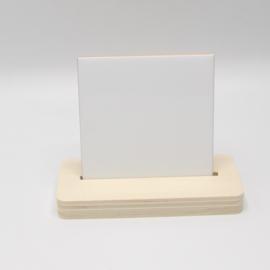 plankje met tegel 10x10cm