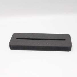 plankje los voor  tegel 15x15cm zwart hout