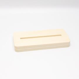 plankje los voor tegel 10x10cm populieren