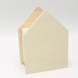 spaarpot huisje 10,2x13,8x5,8cm