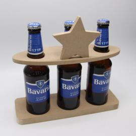 bierfleshouder met ster