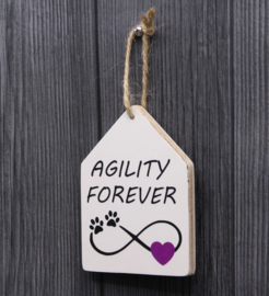 teksthanger agility forever