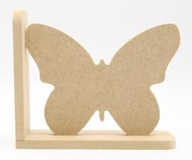 MDF boekensteun vlinder