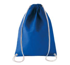 katoenen rugzak dark royal blue