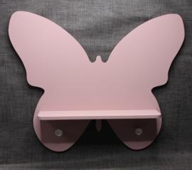 Vlinder kapstok met plank