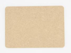 houten bord A5 15x21cm