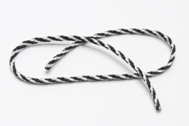 touw zwart wit