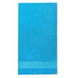 Handdoek met naam 70x140cm aqua