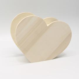 spaarpot hart 16,5x13x5,8cm