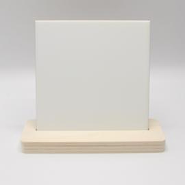 plankje met tegel 15x15cm