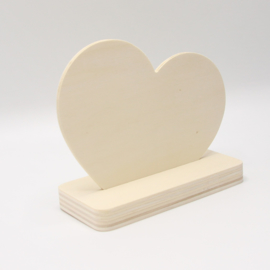 plankje hart kort/breed