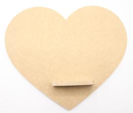 wandbord hart 30bx25h