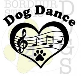 Dog dance hart
