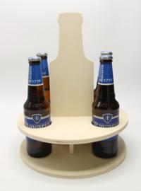 kadoverpakking voor vijf bierflesjes (mdf)