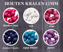 Houten Kralen 12mm