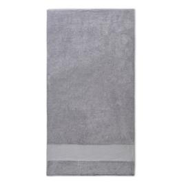 Handdoek met naam 70x140cm grijs