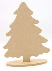 kerstboom op voet 27,5x20,7cm