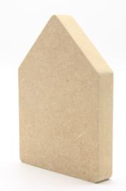 MDF huisje 9x6,5cm