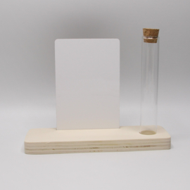 plankje populieren buisje met sublimatie rechthoek